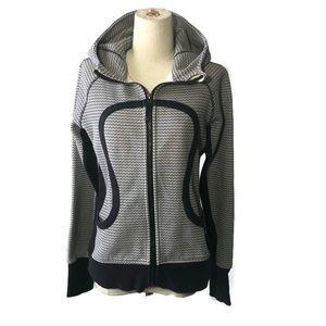 Lululemon 10 remix zip front fleece hoodie